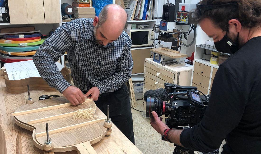 El Proyecto Escarabajo Verde: Construcción de una guitarra clásica con madera de olmo (parte 2)