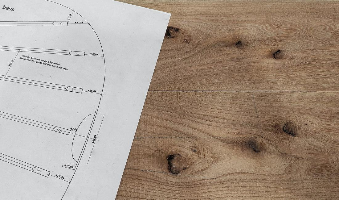 El Proyecto Escarabajo Verde: Construcción de una guitarra clásica con madera de olmo (parte 1)