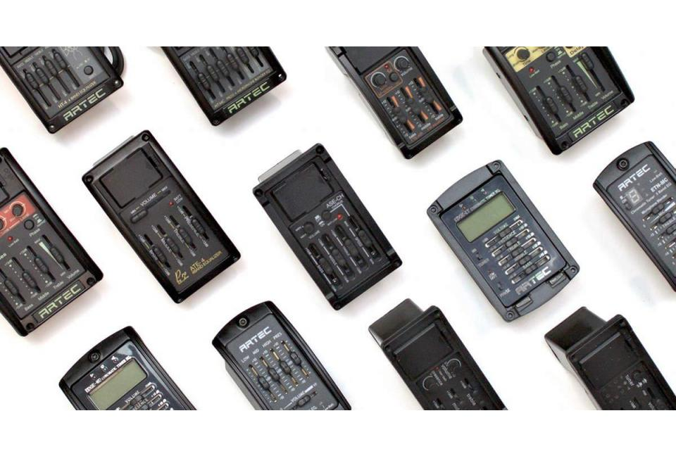Previos ARTEC para amplificar instrumentos acústicos