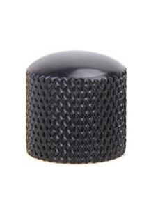 Poti button metal black