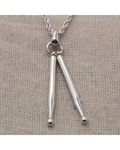 Drum Sticks 3D Pendant