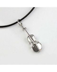 Violoncello Pendant (Sterling Silver)