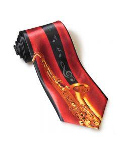 Corbata saxofón. Para complementar el vestuario de músicos saxofonistas