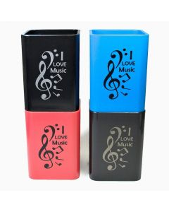 I Love Music Pen Holder