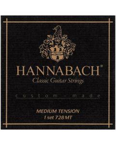 Hannabach Strings for classic guitar 728 Medium