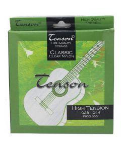 Classic guitar strings Tenson Classic Clear Nylon, High Tension