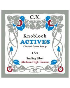 Knobloch Actives Sterling Silver C.X. Medium High Tension