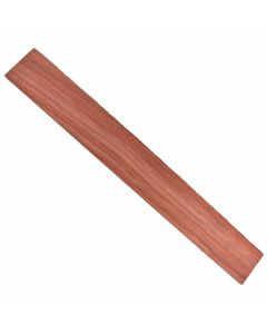 Diapasón para guitarra clásica o acústica de madera de palo rojo.