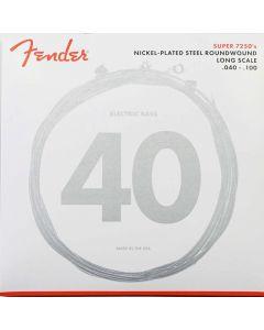 Fender Super 7250L Cuerdas para bajo eléctrico