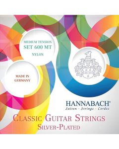 Cuerdas Guitarra Clásica Hannabach 600-MT