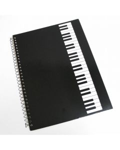 Music notebook, Keyboard design