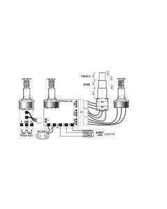 SE3-A 3 Band Equalizer