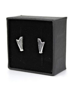 Harp mini earrings (Sterling Silver)