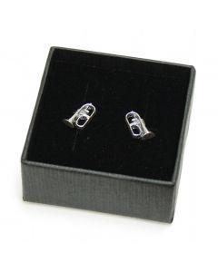 Flugelhorn mini earrings (sterling silver)
