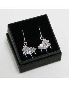 Piano earrings (sterling silver)