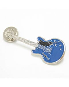 Guitar Lapel Pin Epiphone blue
