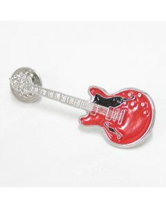Pin Guitarra Epiphone vermella