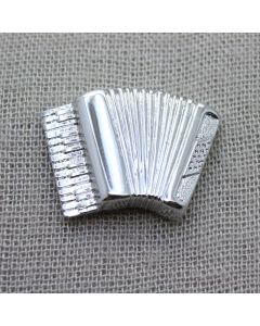 Accordion 3D Lapel Pin