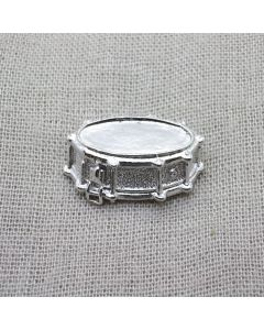 Snare drum 3D Lapel Pin