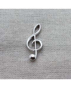 G key Lapel Pin