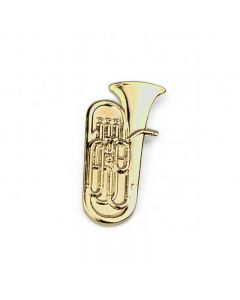 Tuba Lapel Pin (gold-plated)