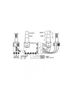 SE-3PA Parametric 3 Band Equalizer