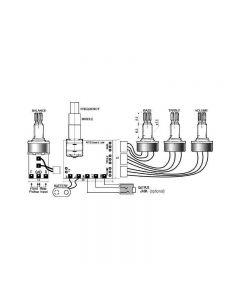 SE-3P Parametric 3 Band Equalizer
