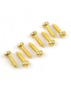 Screw 2,2 x 7,5 gold pan head (8 units)