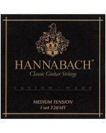 Cuerdas Hannabach Guitarra clásica 728 Medium