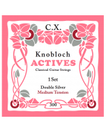 Knobloch Actives Double Silver C.X. Medium Tension
