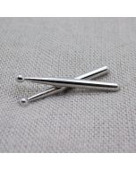 Drum sticks 3D Lapel Pin